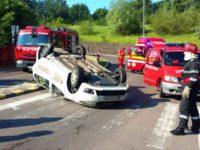 Două accidente, cu patru răniţi