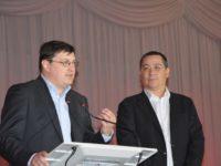 Ponta a venit la Suceava să-l susţină pe Brădăţan ca primar