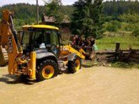 Creşteri importante de debite pe cursurile bazinului hidrologic al râului Suceava