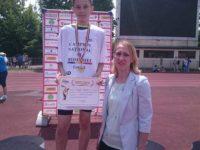 Mihai Tudor Axinte de la CSM Suceava, campion naţional la săritura în lungime la categoria copii 2