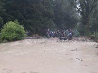 23 de localităţi afectate de ploile torenţiale de duminică