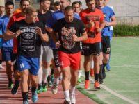 Jucătorii echipei CSU Suceava, la startul pregătirilor unui nou sezon competiţional