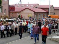 Procesiune religioasă pe străzile Fălticeniului