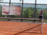 Noul teren cu zgură inaugurat de un turneu de tenis