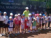 Evoluţie meritorie a micilor tenismeni fălticeneni