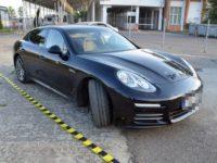 Parcul auto al poliţiştilor de frontieră suceveni, îmbogăţit cu un Porsche Panamera