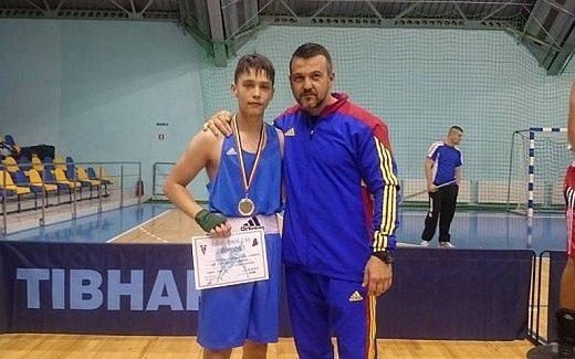 Andrei Lupaşcu, de la CSM Suceava, medaliat cu bronz la Campionatele Naţionale