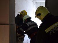 Incendiu într-o hală a fostei SC MES SA