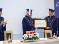 Titlu de Doctor Honoris Causa pentru prof. Jozef Vander Sloten de la Universitatea catolică din Leuven, Belgia