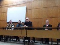 Marian Munteanu, primit la Suceava cu fanfară, de tineri îmbrăcaţi cu sumane negre, şi cu steaguri tricolore