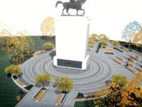 Nicio firmă interesată să reabiliteze statuia ecvestră a lui Ştefan cel Mare