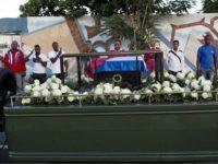 Cenuşa lui Fidel Castro, înhumată într-o ceremonie privată la cimitirul Santa Ifigenia