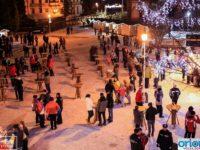 S-a deschis primul târg de iarnă de la Vatra Dornei