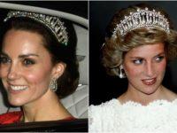 Tiara prinţesei Diana a strălucit din nou la recepţia diplomatică anuală de la Palatul Buckingham
