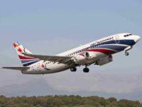 Compania aeriană care va opera cursele de la Suceava spre Zakynthos şi Antalya, specializată în evacuări din zone de conflict