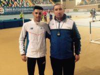 Andrei Dorin Rusu, de la CSM Dorna Vatra Dornei, campion balcanic în proba de 1.500 m