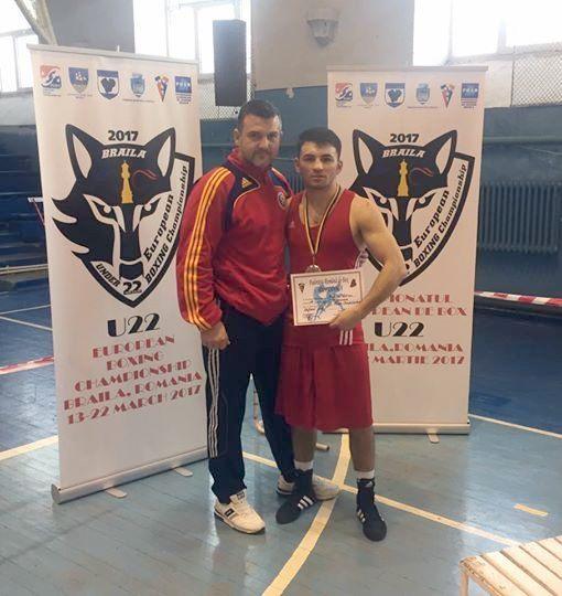 Adrian Botuşan de la CSM Suceava, vicecampion naţional