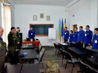 O nouă delegaţie ucraineană la Şcoala Militară de Subofiţeri de Jandarmi Fălticeni
