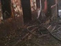Un individ din Arbore şi-a dat foc la casă