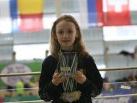 Performanţă remarcabilă pentru Delia Elena Ostafi