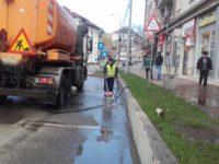 După încălzirea vremii, curăţenia stradală se va face mai mult noaptea