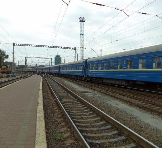 Locomotiva unui tren Regio a deraiat