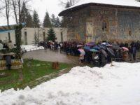 Nou popas de bucurie la Sfânta Mănăstire Voroneţ