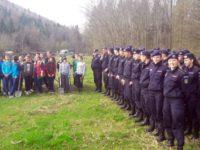 24 de elevi ai Şcolii Militare de Subofiţeri de Jandarmi Fălticeni au plantat copaci în zona Ocolului Silvic Râşca
