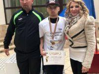 Daniel Mihăescu, de la CSM Dorna Vatra Dornei, campion naţional la juniori II
