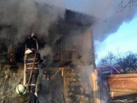 Mai multe gospodării în pericol din cauza unui incendiu
