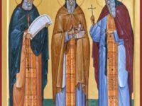 Sfinţii Sila, Paisie şi Natan, sihaştrii