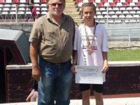 Două medalii pentru suceveanca Angela Olenici