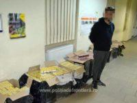 Focuri de armă trase în apropierea graniţei pentru capturarea unui transport de ţigări de contrabandă
