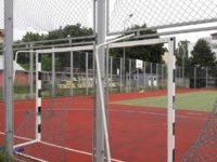 Teren de sport multifuncţional din cartierul George Enescu vandalizat