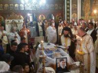 Părintele Gheorghe Brădăţan a fost condus pe ultimul drum