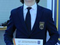 Elevul Bogdan Rusu a obţinut medalia de argint