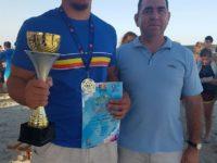 Teodor Chira, campion naţional la lupte pe plajă