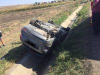 """Accident pe DN 17, în apropiere de """"Zidul morţii"""""""
