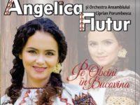 """Angelica Flutur a scos un nou CD, """"Pe Obcini în Bucovina"""""""