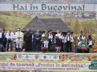 """Târgul de toamnă """"Produs în Bucovina"""" s-a deschis ieri"""