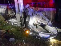 Doi tineri, de 19 şi 20 de ani, morţi într-un accident în comuna Râşca