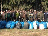 Silvicultorii din Râşca au ecologizat un drum de 18 km
