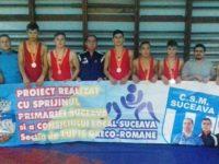 Opt medalii pentru suceveni la Campionatele Naţionale pentru juniori mici de la Suceava