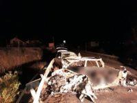 Cinci vieţi s-au stins în chinuri groaznice, arzând în autoturismul cu care se întorceau acasă
