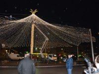 Cupola luminoasă din centrul Sucevei a fost instalată
