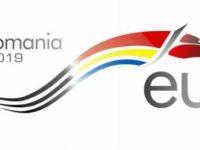 Un lup stilizat, logoul preşedinţiei României la Consiliul UE