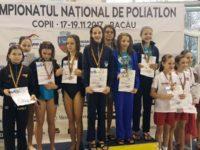 Micii înotători suceveni s-au numărat printre protagoniştii competiţiei