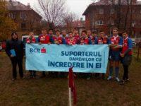 Echipa LPS Suceava de rugbi în şapte a încheiat turul de campionat pe locul trei