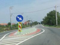 Alveole de calmare a traficului rutier la intrările în localităţile judeţului