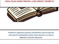 Dezbatere publică pe marginea variantelor de plan-cadru pentru învăţământul liceal